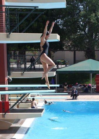 Lauren Okamoto flips and dives her way into CCS