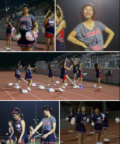 Cheerleading team welcomes special ed students