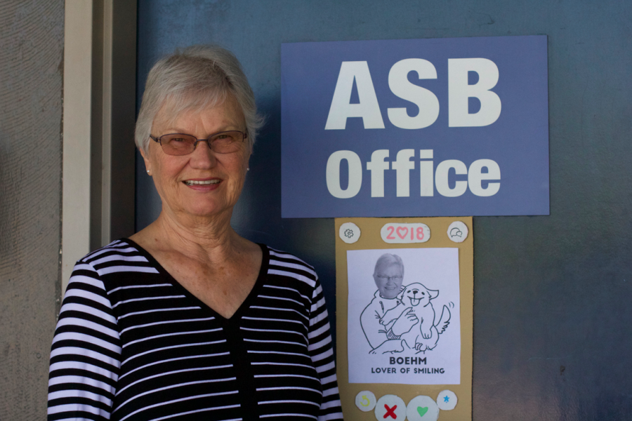 The smile behind the ASB Office: Financial Specialist Judy Boehm