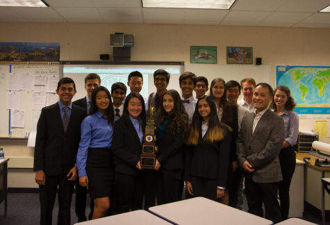 Mock Trial Takes Home Second Place