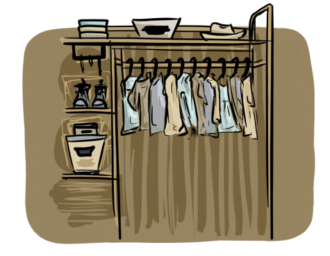 How to dress up a simple closet for success
