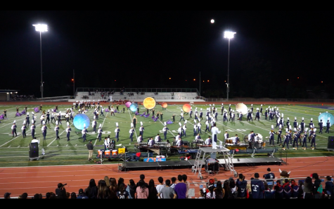 Marching Band places second at season-end competition