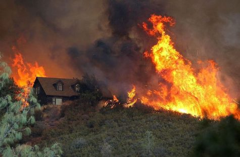 Wildfires blaze through Northern California