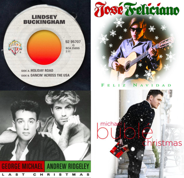 Christmas songs for the road