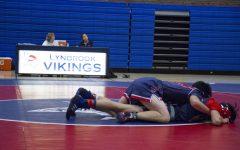 Viking wrestling team pins down all-season wins
