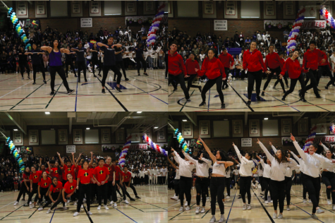 Students showcase superhero spirit at Winter Rally