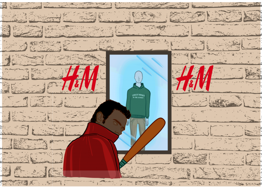 Use of violence in H&M proves counterproductive