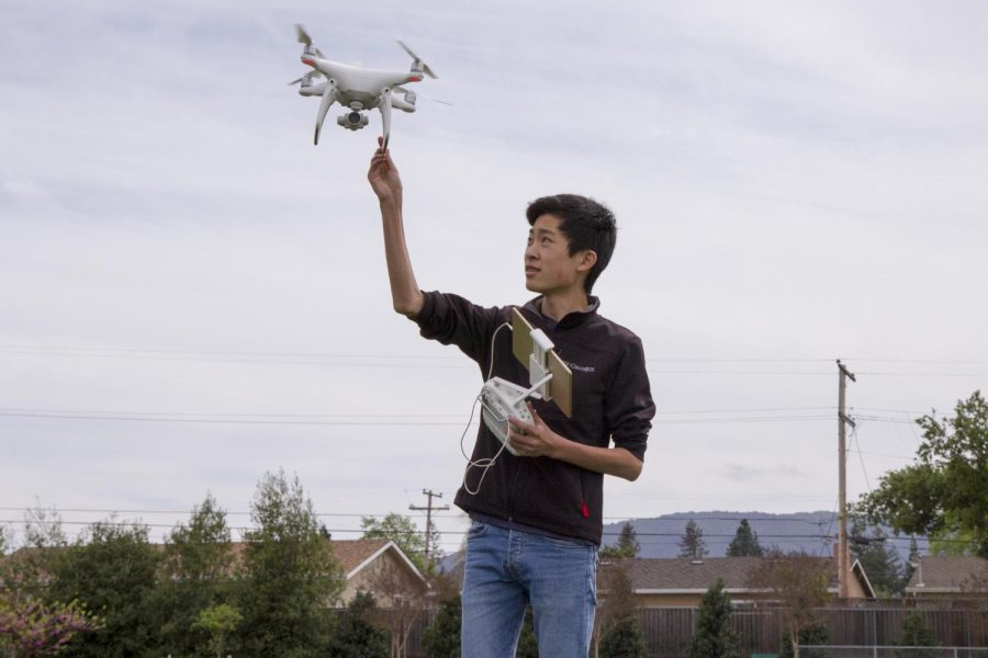 Maxwell Wang flies to new heights with drones