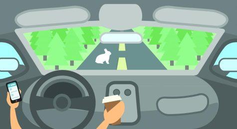 Drivers in autonomous vehicles must be alert
