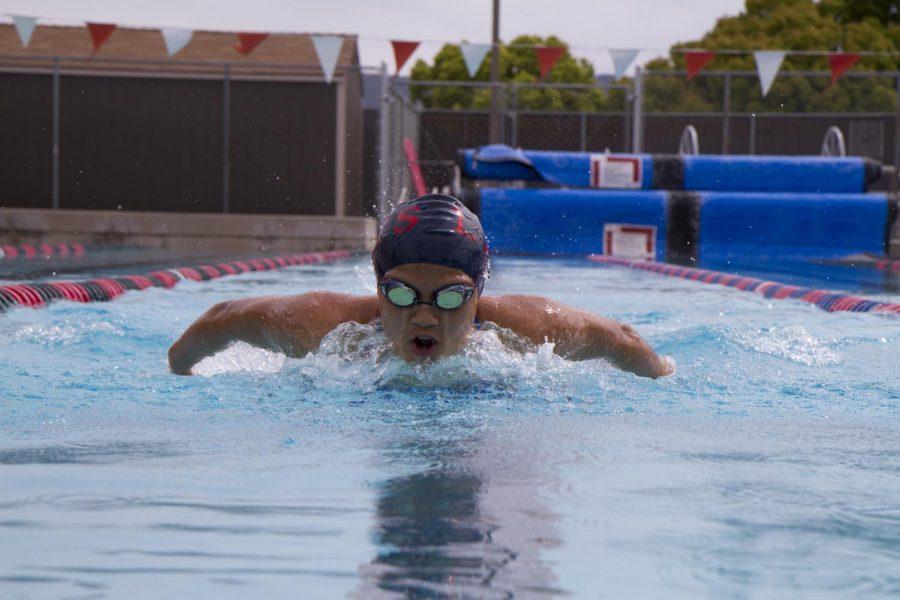 Swim season ends with a splash