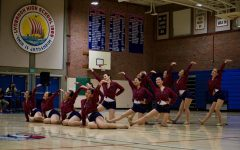 Students dance to the beat at the Valkyries Spring Show