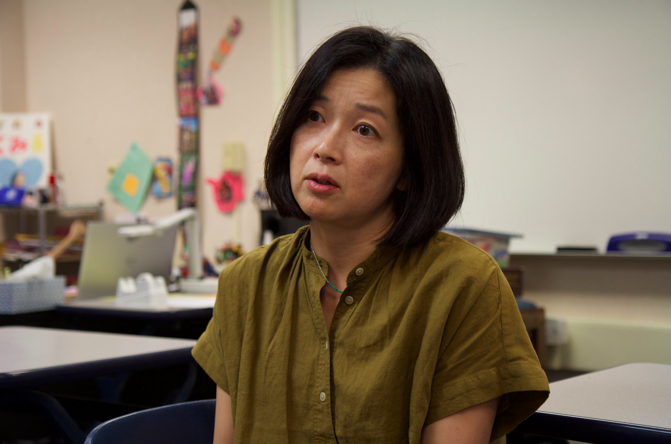 After 15 years at Lynbrook, Japanese teacher Kumi Kobayashi will be moving to Los Gatos High School for the 2018-2019 school year.
