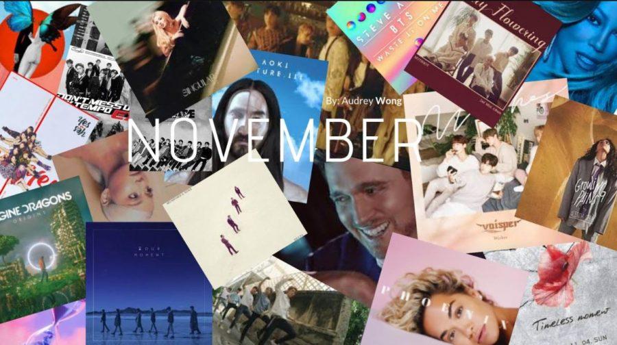 November: New music releases