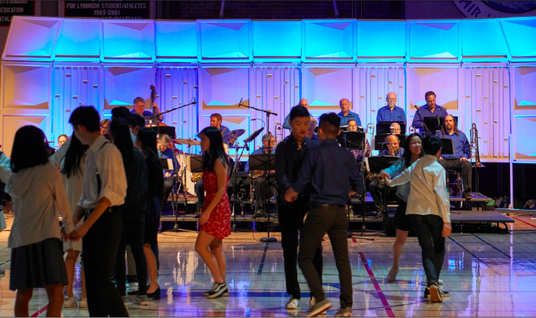 Students+swing+dance+at+the+annual+Blue+Pearl+dance%2C+hosted+by+Lynbrook+Marching+Band