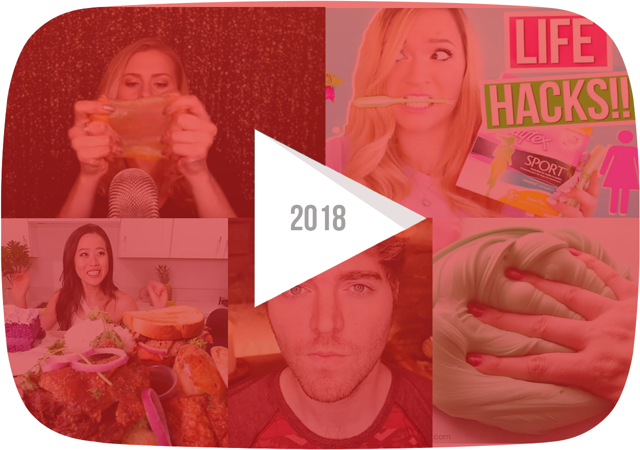 ASMR, slime, conspiracy theories and mukbangs were just a few of the many YouTube trends in 2018.