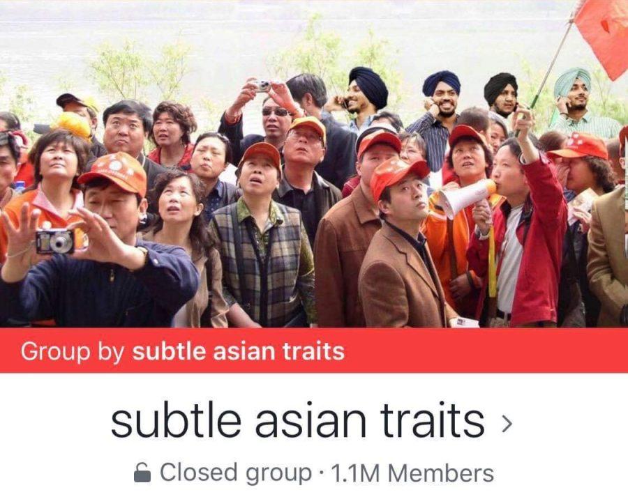 Subtle+Asian+Trait%27s+Facebook+group+cover+photo+depicting+Asian+tourists.
