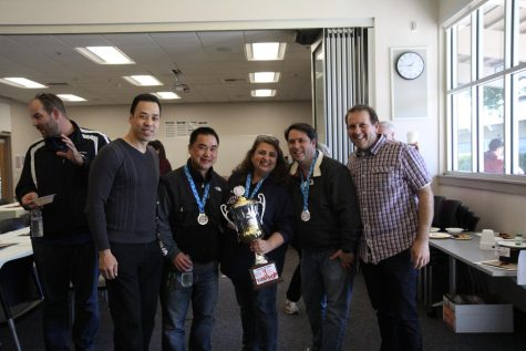 Lynbrook staff spices it up at Chili Cook Off