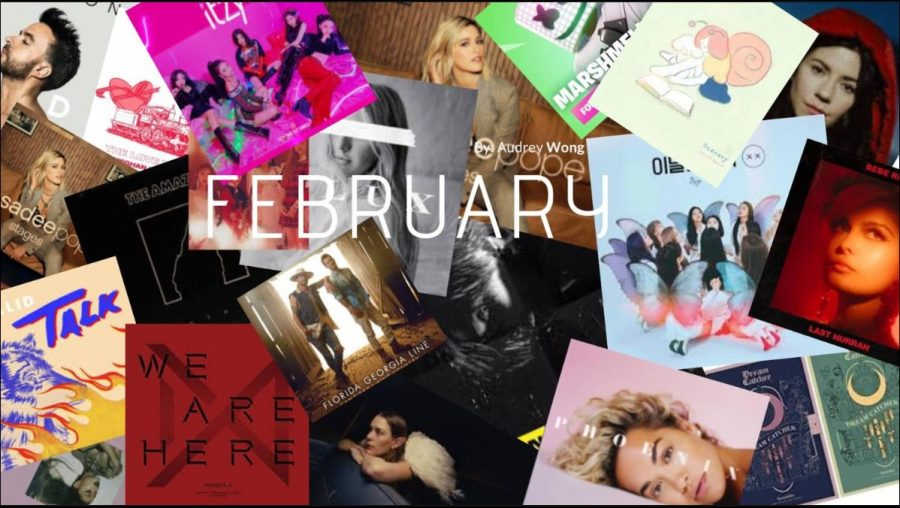 February: New music releases