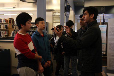 STEM students present inspiring research