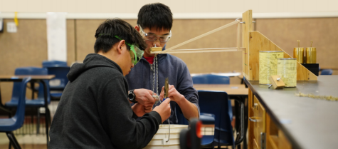 Science Olympiad team celebrates win and prepares for regionals