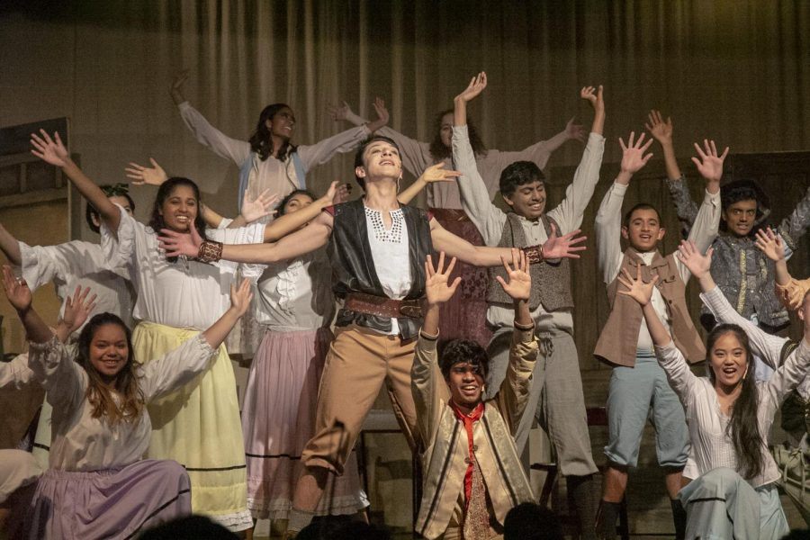 "Behind the Scenes: Lynbrook Drama's Musical ""Beauty and the Beast"""