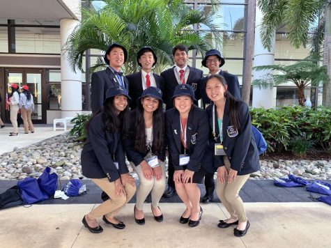 Lynbrook DECA and Amory Gao reach new heights