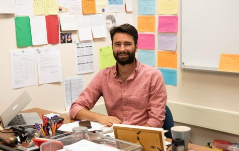 Meet new history teacher and cross country coach, Luca Signore!