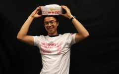 Writer Enzo Cabalitica uses junk food to keep himself healthy