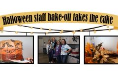 Halloween staff bake-off takes the cake