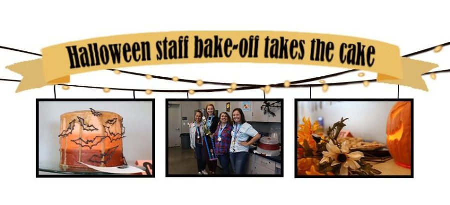 Lynbrook+Staff+Association+%28LSA%29%2C+English+teacher+Andrew+Seike+and+print+center+technician+John+Hott%2C+decided+to+hold+a+Halloween+Bake-Off+on+Oct.+30+for+their+monthly+staff+event+in+time+for+Halloween.+