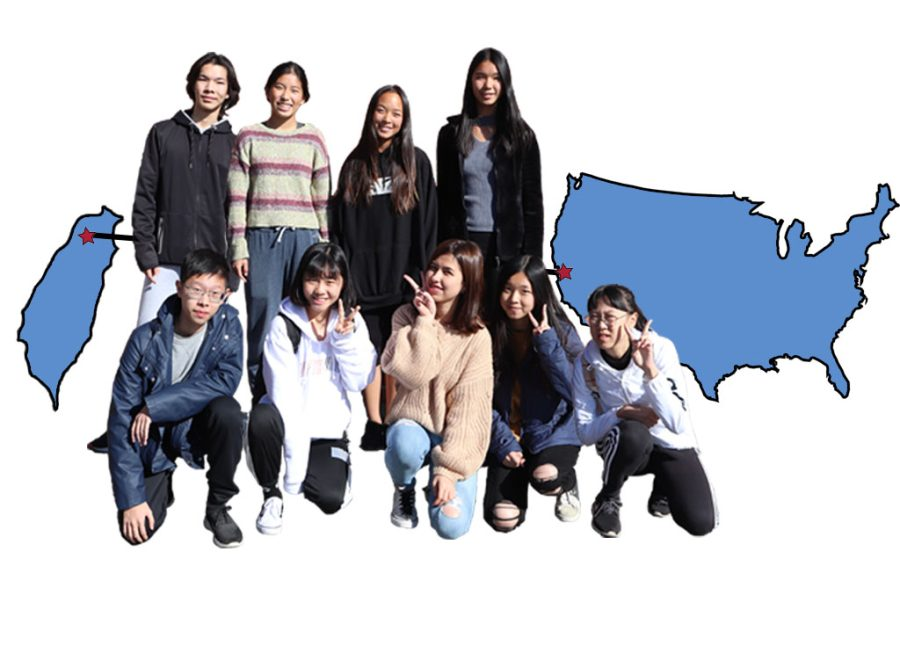 Taiwanese students explored Lynbrook with their hosts, accompanying them to their various classes and interacting with teachers and students throughout the three days.