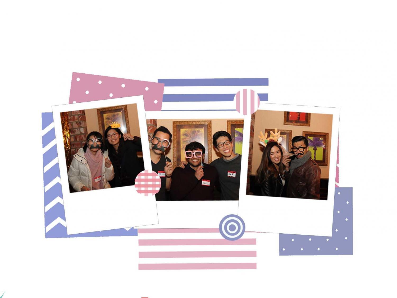 Left to right --  Image 1: Ruby Lee, Emily Chen Image 2: PJ Loury, Vyas Ramasubramani, Joe Peng Image 3: Christina Nguyen, Luke Manalo