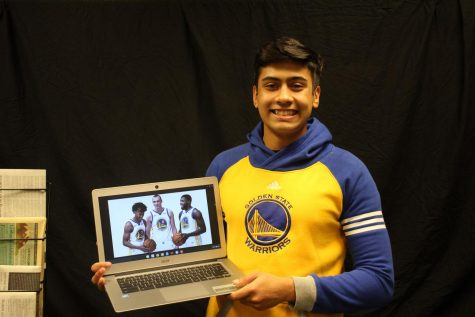 Writer Ron Aich shares his love for watching the Warriors.