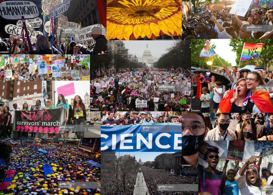 Social movements through the decade