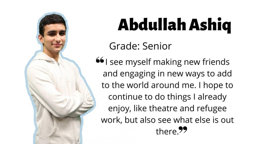 Abdullah Ashiq on his plans for the future: