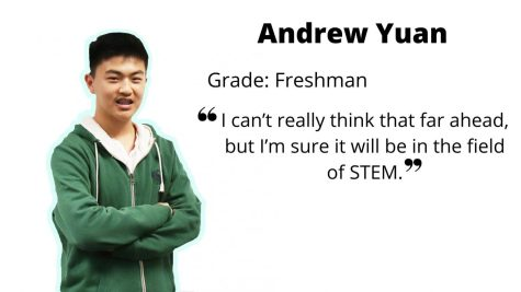 Freshman Andrew Yuan passes on his STEM passions to others
