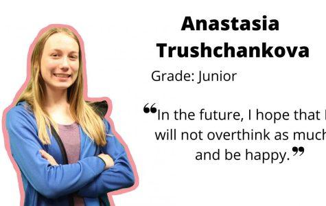 Junior Anastasia Trushcankova demonstrates leadership, hard work and passion
