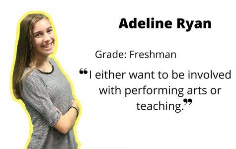 Freshman Adeline spreads positivity