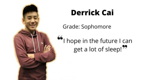 Derrick Cai on his plans for the future: