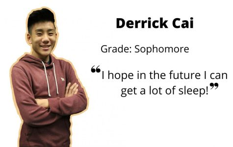 Sophomore Derrick Cai: varsity basketball point guard, debater, and DECA member