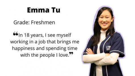 Freshman Emma Tu, Tu-wenty Tu-wenty Three Class President