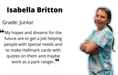 Junior Isabela Britton makes her high school experience meaningful