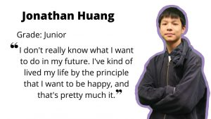 Junior Jonathan Huang: YouTuber, Math Honor Society President and Science Club Vice President