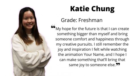 Katie Chung, when asked about her plans for the future: