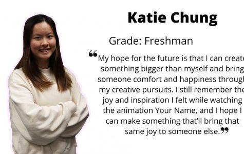 Creative freshman Katie Chung: artist, customizer, PR commissioner