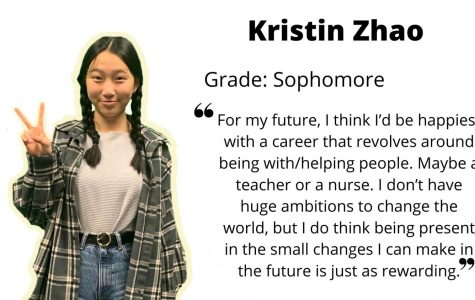 Sophomore Kristin Zhao: Positive leader and church youth group leader