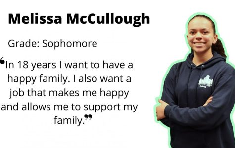 Multi-talented Melissa McCullough: alto saxophone, varsity pitcher and ice hockey player