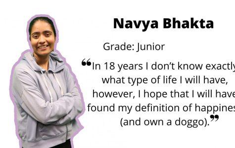 Junior Navya Bhakta on navigating through high school