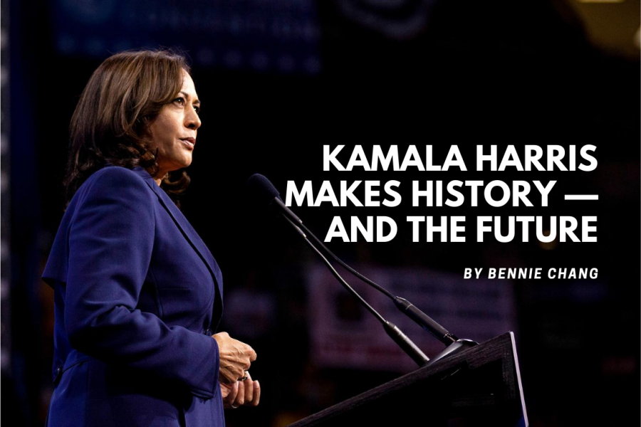 Kamala Harris makes history — and the future