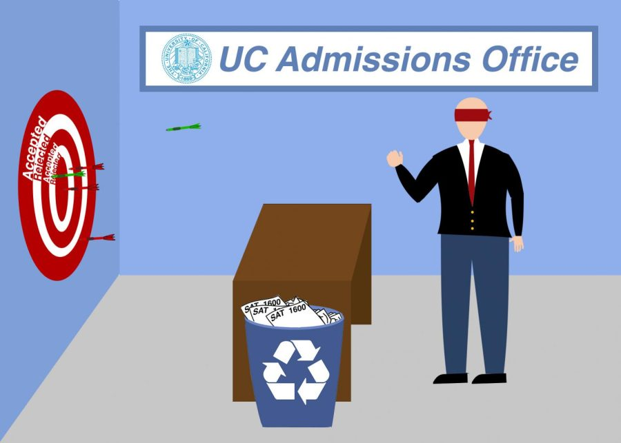 The test-blind policy makes admission officers' jobs that much harder.